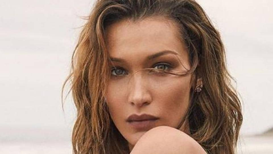 Supermodel Bella Hadid is almost unrecognisable in her new blond look.