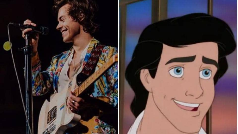 Harry Styles is likely to play Prince Eric in Little Mermaid live action.