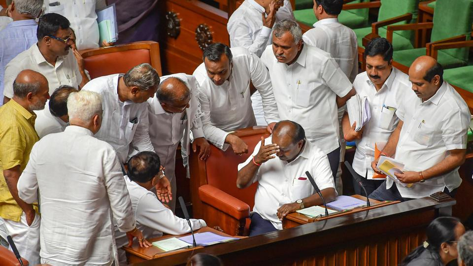 In an interim order passed to maintain 'constitutional balance', the Supreme Court on Wednesday said while no time frame can be set for the Speaker to take a decision on the resignations of Karnataka rebel MLAs, the lawmakers also could not be forced to attend the trust vote scheduled for Thursday. (Shailendra Bhojak / PTI File)