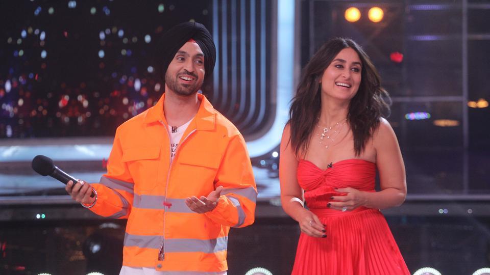 Kareena Kapoor calls Diljit Dosanjh her biggest fan, says 'I listen to his song Proper Patola on a loop'. See pics