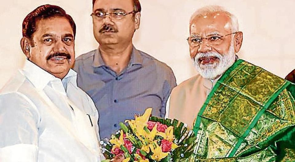 The AIADMK has not involved the BJP in its campaign for the Vellore Lok Sabha poll on August 18. The election was postponed because of large cash seizure.