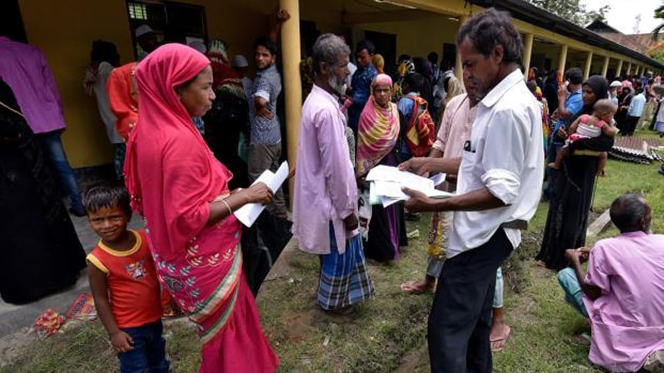 The NRC draft list, published on July 30, 2018, excluded over four million people and an additional list on June 2019 left out over 1,00,000.