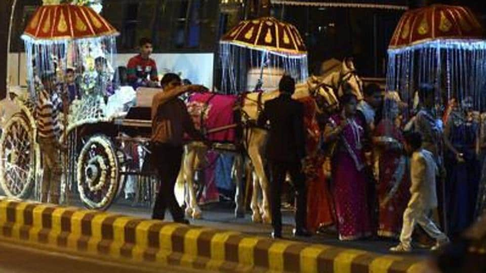 Delhi government is preparing to restrict the number of guests at  weddings in the city.