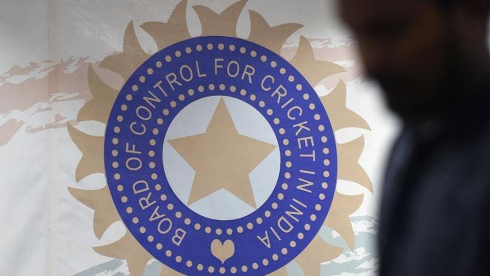 The logo for the Board of Control for Cricket in India (BCCI).