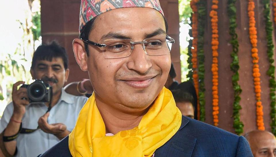 Bharatiya Janata Party (BJP) MP from the constituency Raju Bista
