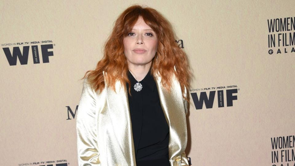 Natasha Lyonne arrives for the 2019 Women in Film Annual Gala at the Beverly Hilton hotel in Beverly Hills.