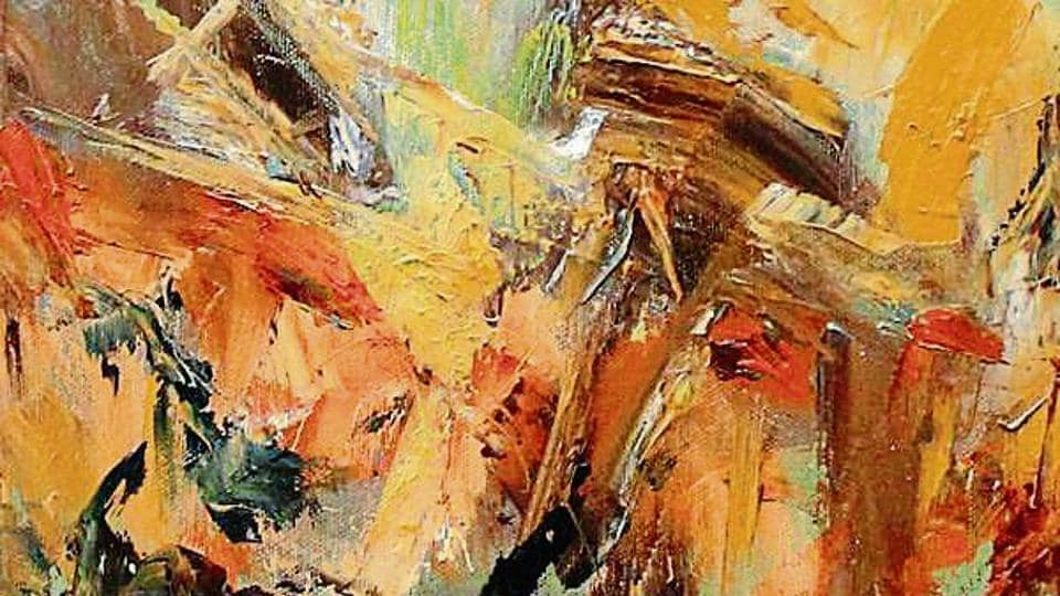 Artist,painting,Shifting Expression