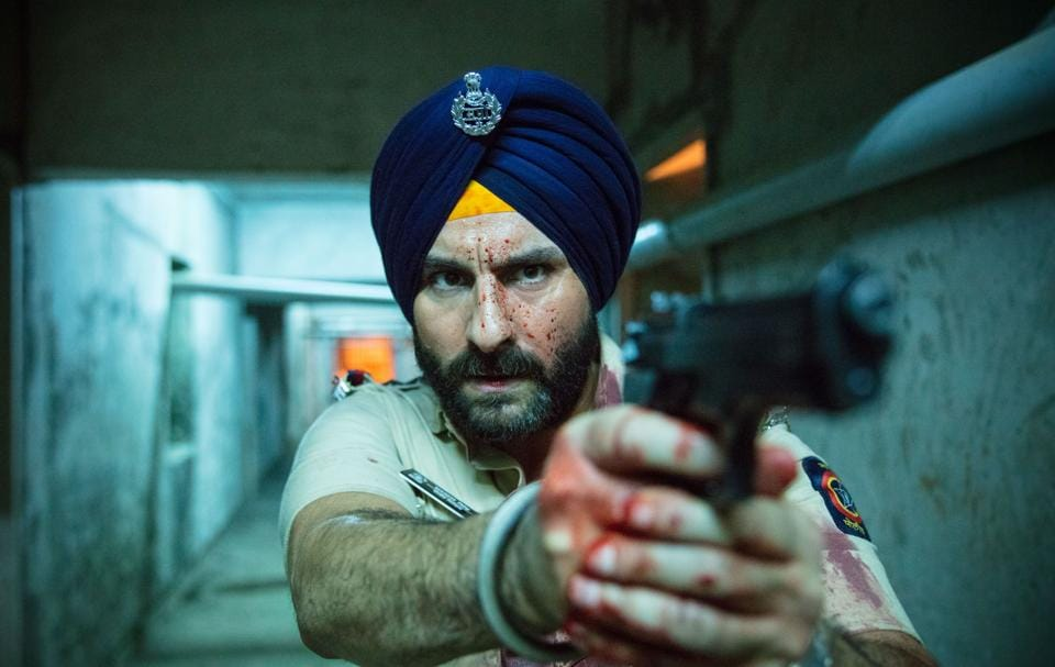 A still from Season 1 of Netflix's Sacred Games, based on the novel by Vikram Chandra. Season 2 is out next month.