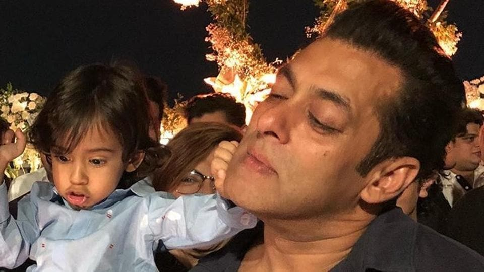 Salman Khan has shared new video with nephews Ahil and Yohan.