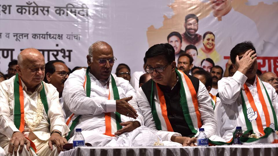 Kharge was chairing a meeting at YB Chavan Centre in Nariman Point to hand over the charge of the party's state unit to newly-appointed chief Balasaheb Thorat and the five working presidents.