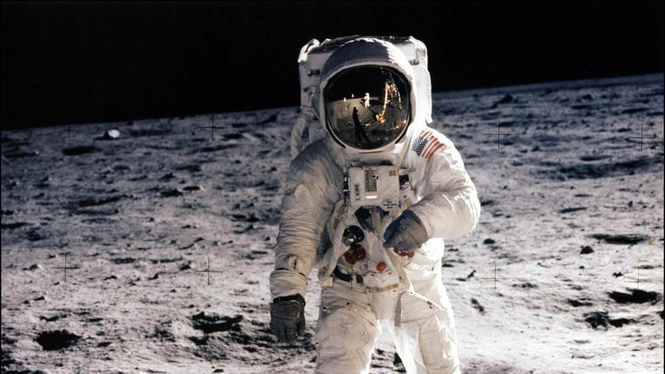 AFP despatched several journalists to cover the exploit, which was broadcast live from the Moon's Sea of Tranquility to NASA's Johnson Space Center and on to televisions around the world.