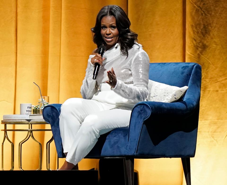 Former first lady Michelle Obama added her voice on July 19, 2019 to the Democratic outcry following President Donald Trump's attack on four ethnic minority congresswomen, saying