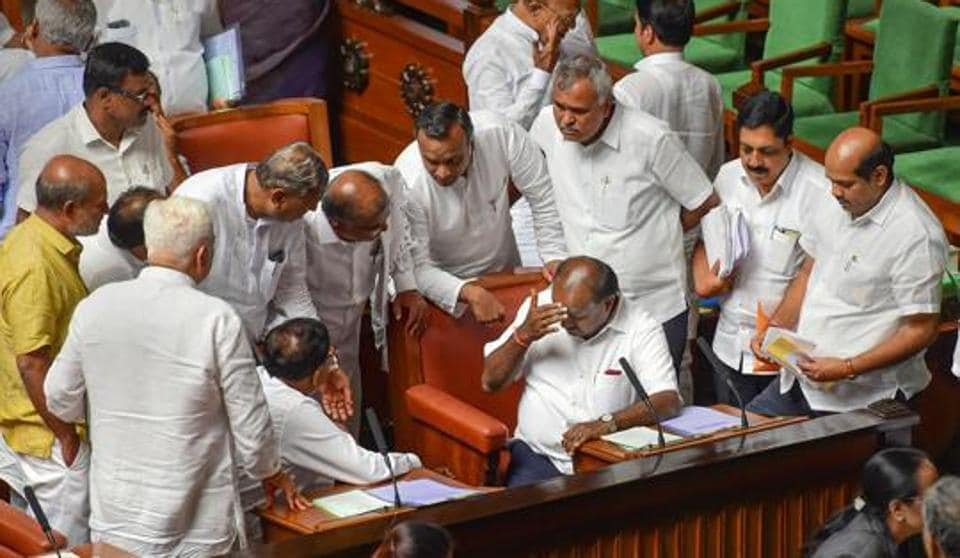 Over the past week, no actor involved in the Karnataka crisis has observed restraint. And there has also been an unwillingness to let formal processes -- the confidence vote, in this case -- take its own course. This has meant dangerously stepping out of constitutional boundaries