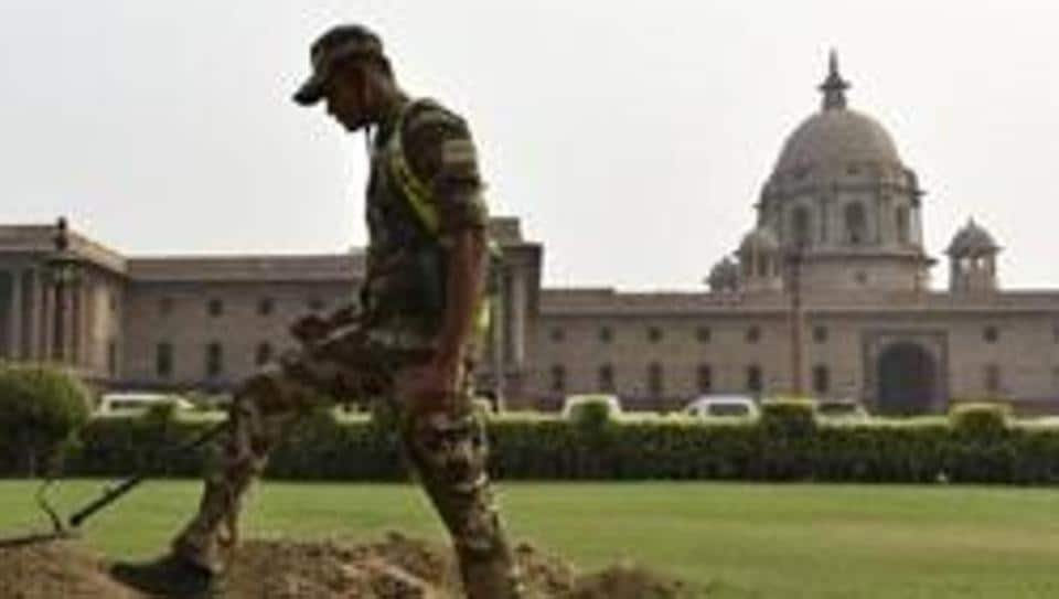 Tight security put in place at outside Home Ministry, North Block in New Delhi. Until now, only the Centre had the power to constitute such tribunals, which were essentially quasi-judicial bodies unique to Assam.