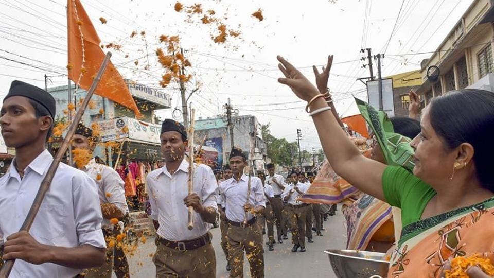 'Depleting resources' shift RSS's focus on changing demography