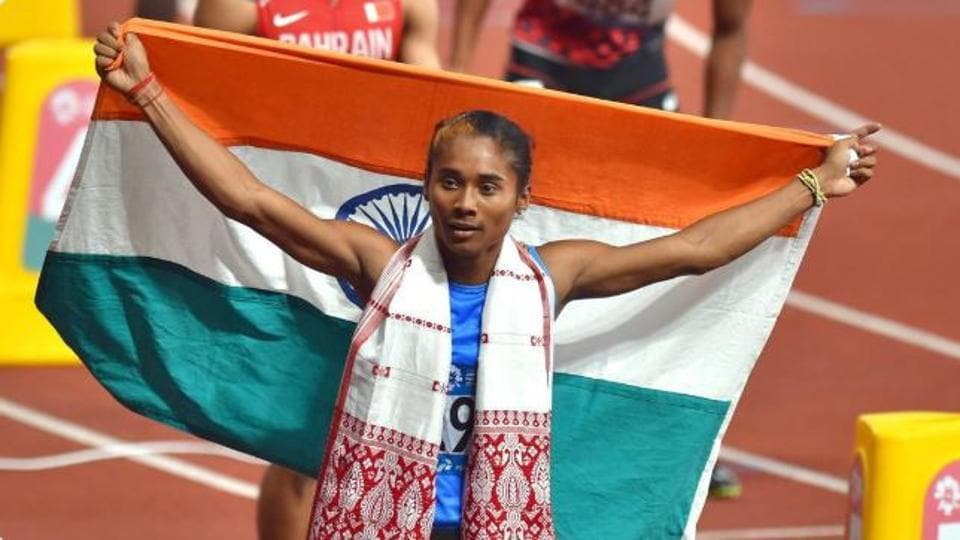 Accolades and congratulatory messages poured in for Hima Das but the athlete was particularly pleased to get wishes from legendary Sachin Tendulkar