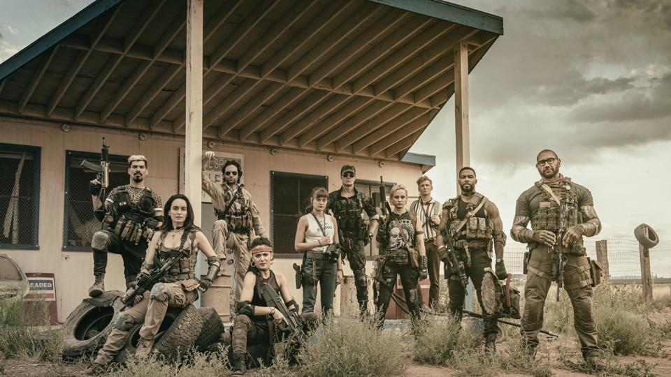 Huma Qureshi is missing from first official pic of Zack Snyder's Army of the Dead. See here