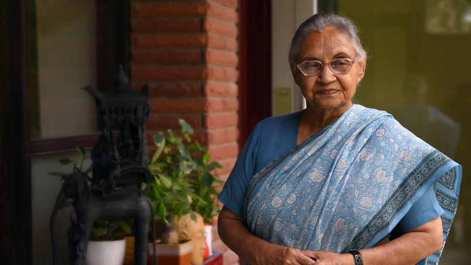 Former Chief Minister of Delhi Sheila Dikshit passed away after a massive cardiac arrest.