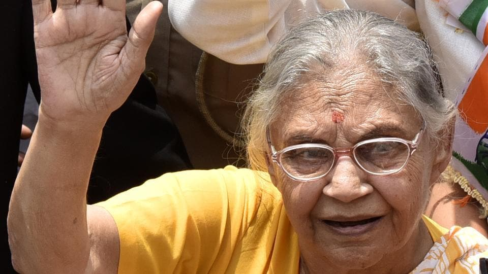 Sheila Dikshit passed away in Delhi on Saturday.