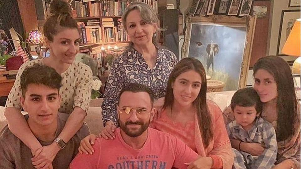 Saif Ali Khan talks about his three kids Sara, Ibrahim and Taimur.