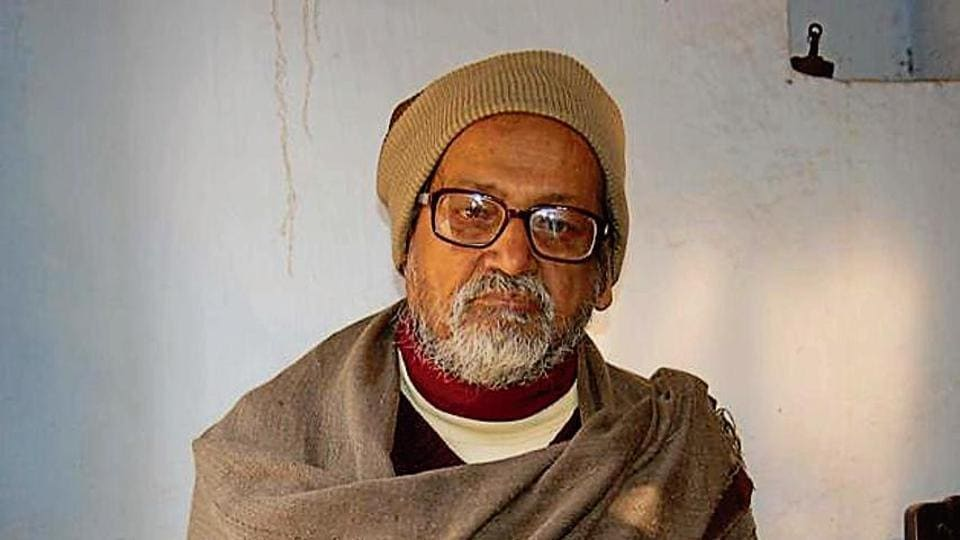 Veteran trade union leader Arun Kumar Roy.