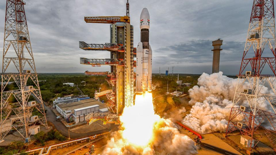 The launch of India's moon mission (Chandrayaan-2) from the Satish Dhawan Space Centre at Sriharikota in Nellore district of Andhra Pradesh at 2.43 pm was successful. This was the second attempt after the first bid on July 15 had to be aborted with an hour to go before the launch due to a technical glitch. (PTI)