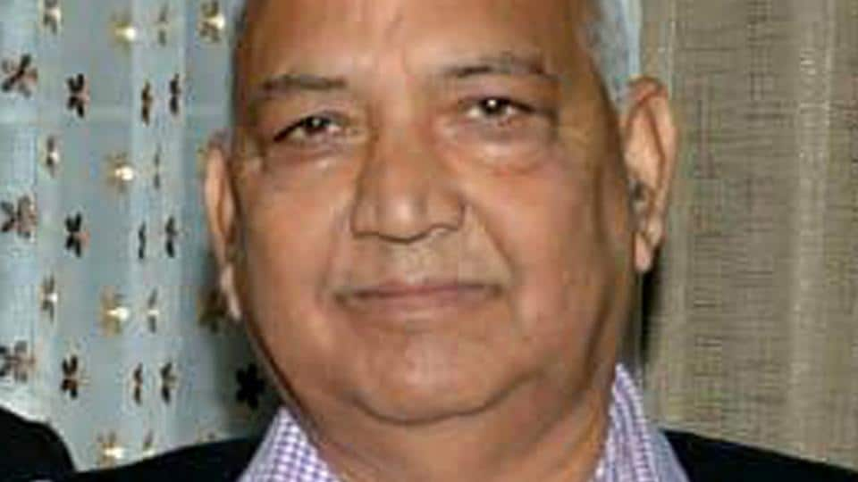 File photo of BJP lawmaker Ramesh Dhawala. He is the party MLA from Himachal's Jwalamukhi assembly seat.
