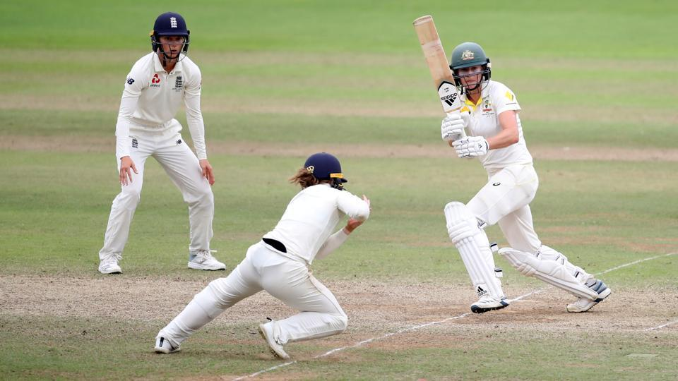 Australia's Ellyse Perry in action.