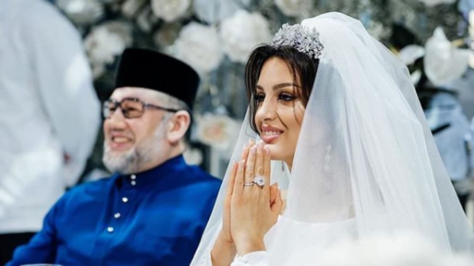Malaysia's former king has divorced a Russian ex-beauty queen just months after news of their wedding emerged and he abdicated in a first for the country.