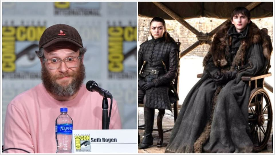 Seth Rogen was majorly upset at the Game of Thrones ending and vented about it at the SDCC.