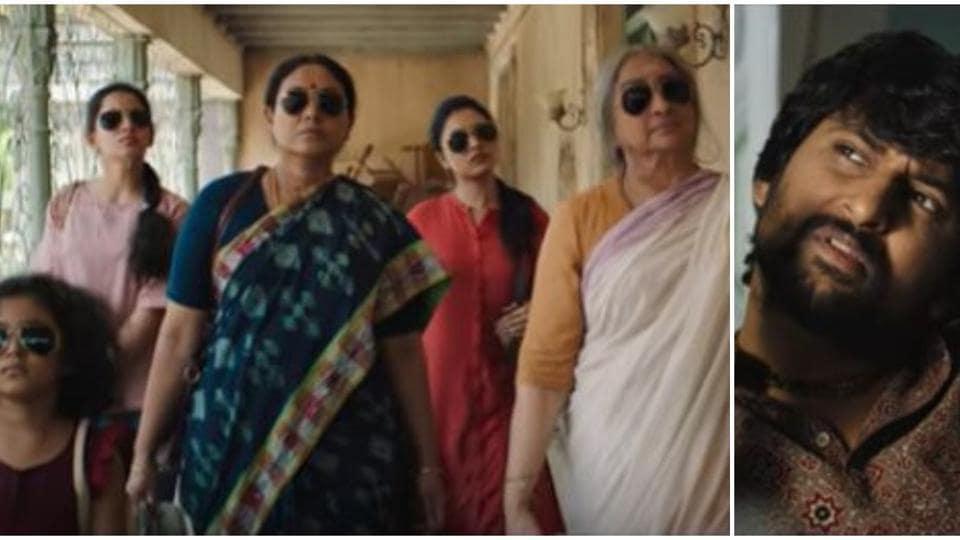 Gang Leader teaser: Nani leads a group of women on a revenge