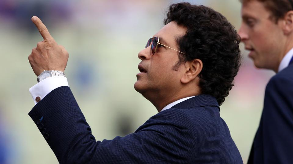 A file photo of Sachin Tendulkar during the ICC World Cup 2019.