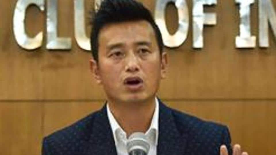 Former Indian football team captain Bhaichung Bhutia speaks.