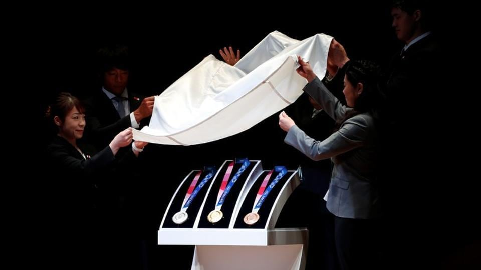 Photos: 'One year to go' and medals unveiled for Tokyo Olympics
