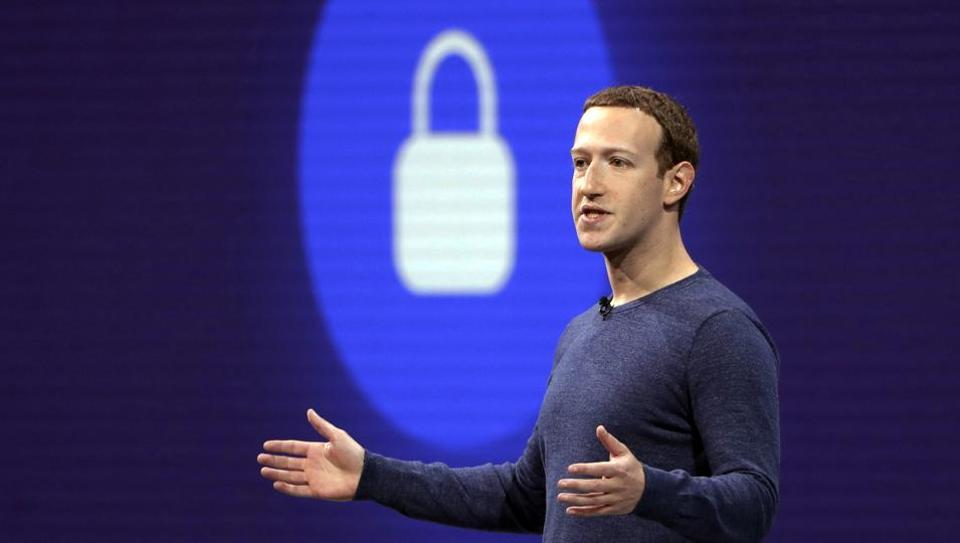 FILE - In this May 1, 2018, file photo, Facebook CEO Mark Zuckerberg delivers the keynote speech at F8, Facebook's developer conference, in San Jose, Calif. Federal regulators are fining Facebook $5 billion for privacy violations and instituting new oversight and restrictions on its business. But they are only holding Zuckerberg personally responsible in a limited fashion. (AP Photo/Marcio Jose Sanchez, File)
