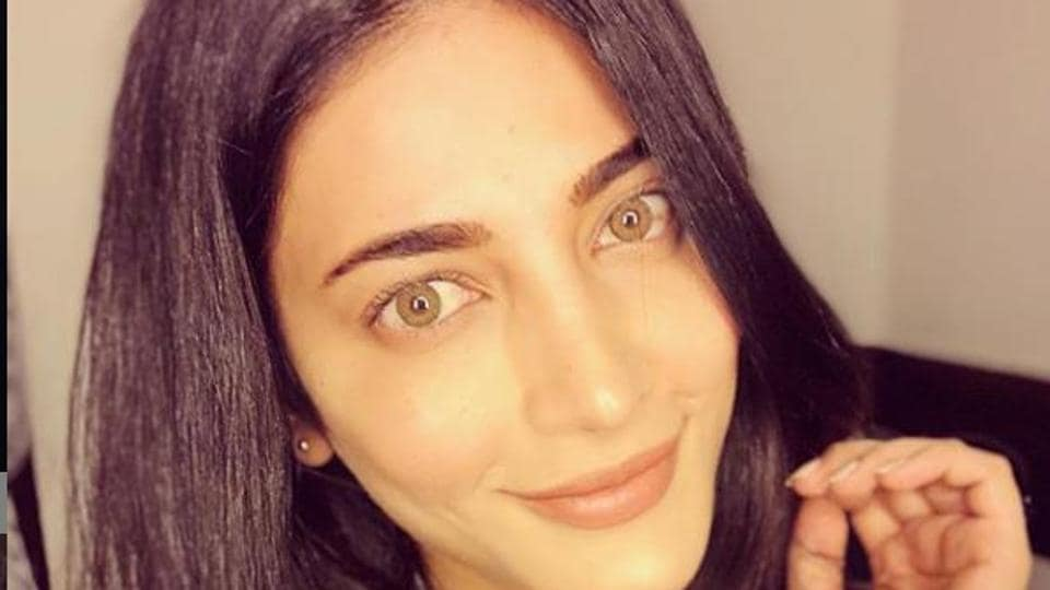 Shruti Haasan is currently holidaying in Budapest.