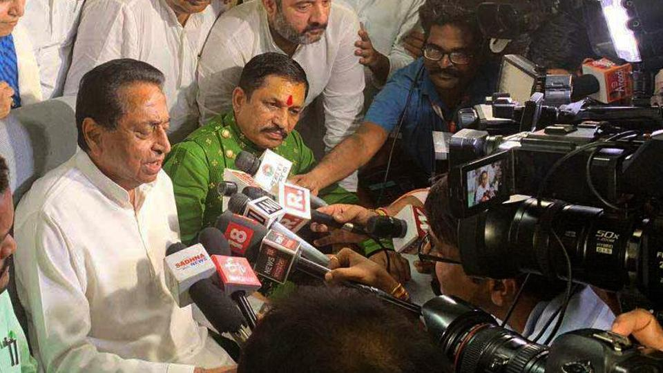 Image result for Opposition Leader Offers Offices To Members Assembly Supporting Kamal Nath Government