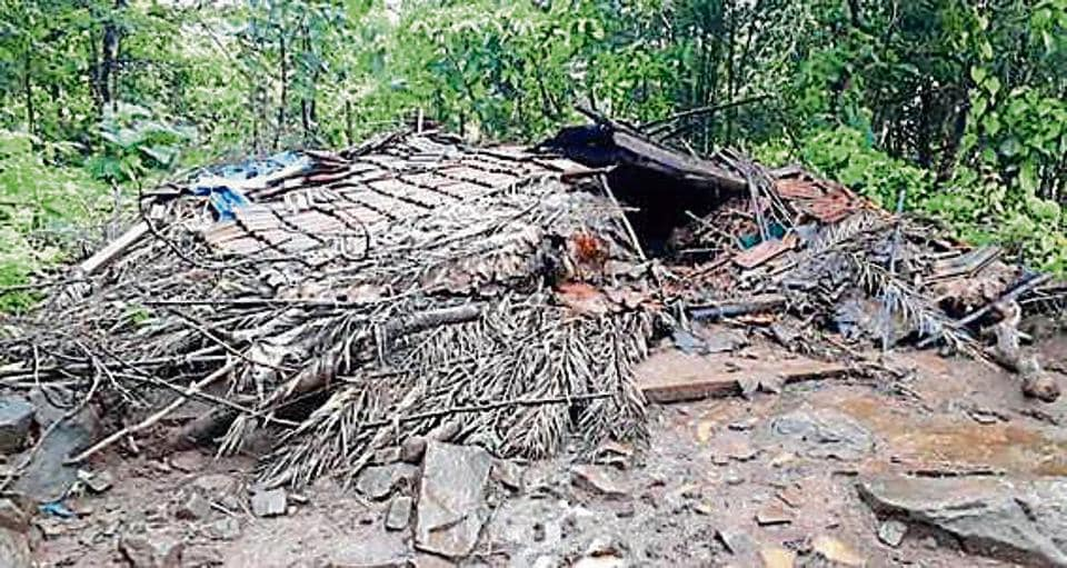 Rishya Meghwali died when a portion of his house fell on him as tremors hit Dahanu on Thursday morning.