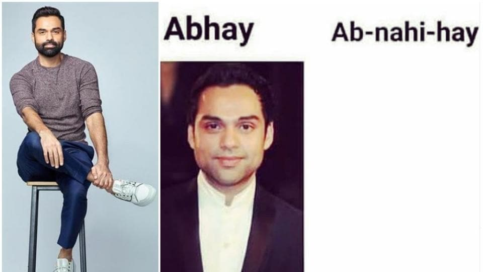 Abhay Deol sense of humour was appreciated after he shared a meme on his career.