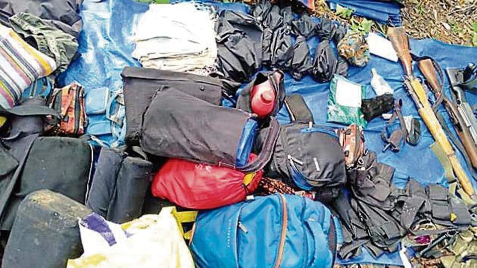 The security forces began the combing operation on Wednesday, following a tip-off that around 15 Maoists were hiding in the forest.
