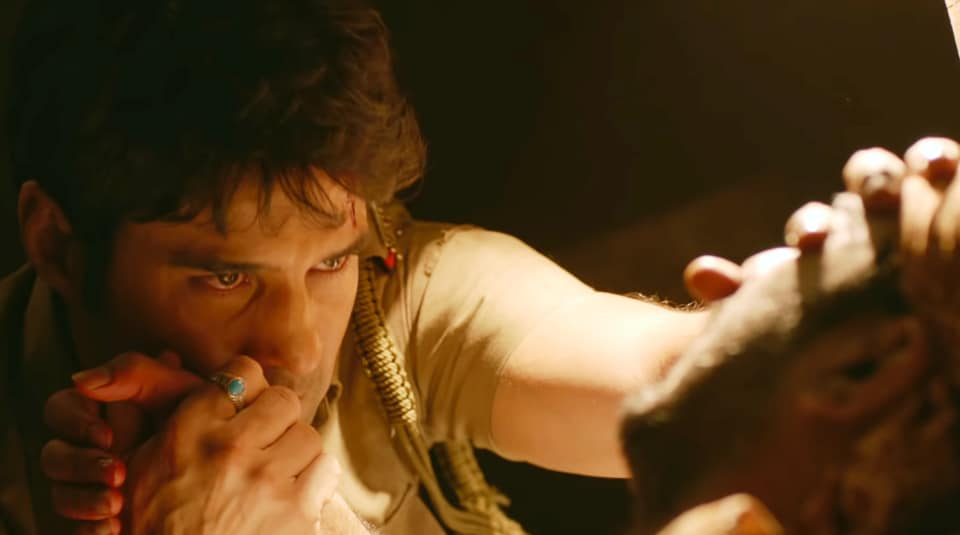 Rajeev Khandelwal in Pranaam. He plays an IAS officer in the film.