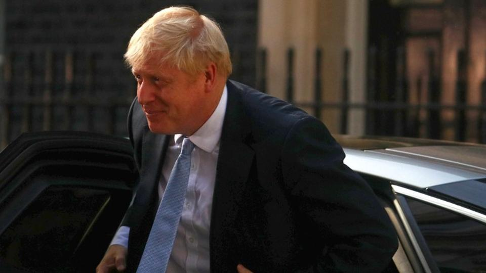 Johnson took office earlier this week, walking through the black front door of Number 10 Downing Street for the first time after setting out a desire to defy his critics over Brexit and bring a decisive new leadership style to Britain's top job.