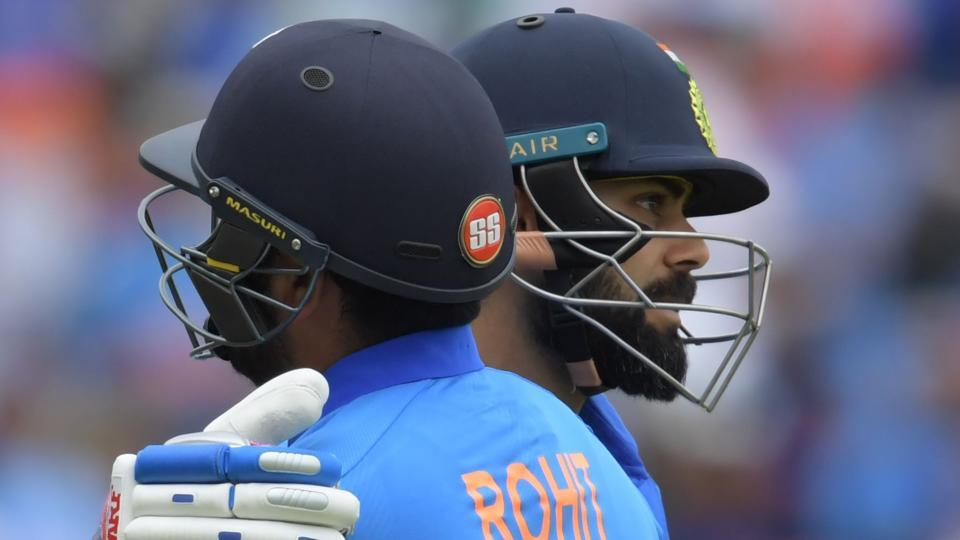 File image of India cricketers Rohit Sharma and Virat Kohli.