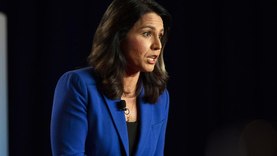 Tulsi Gabbard, one of the 20 Democrats running for the party's 2020 presidential ticket.