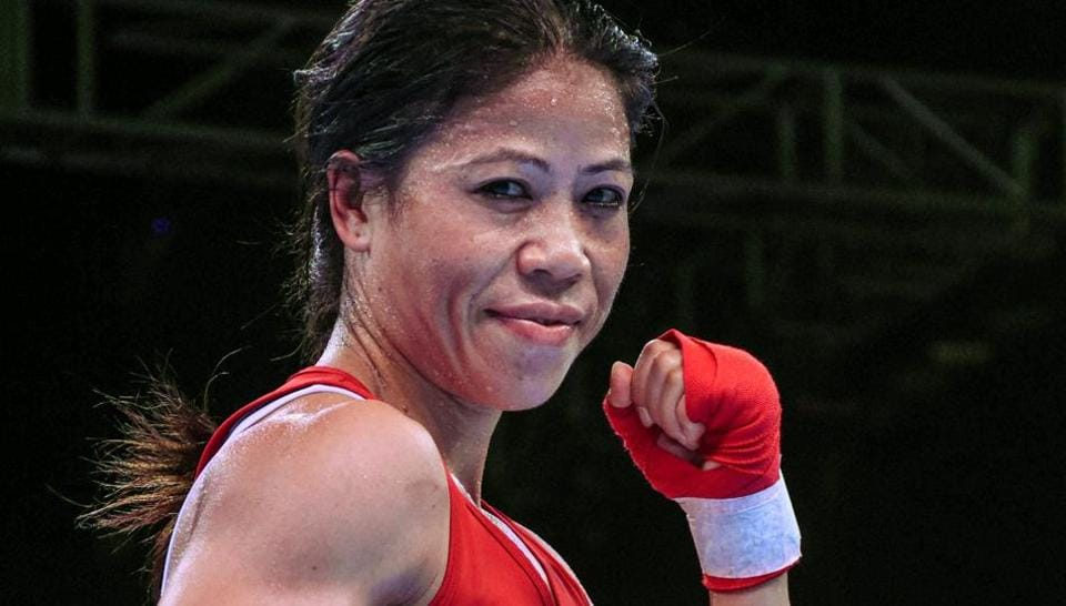 File photo of Mary Kom.