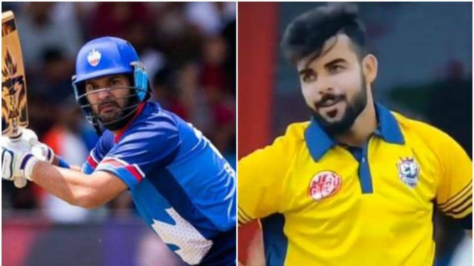 Yuvraj Singh stunned Shadab Khan in Global T20 Canada
