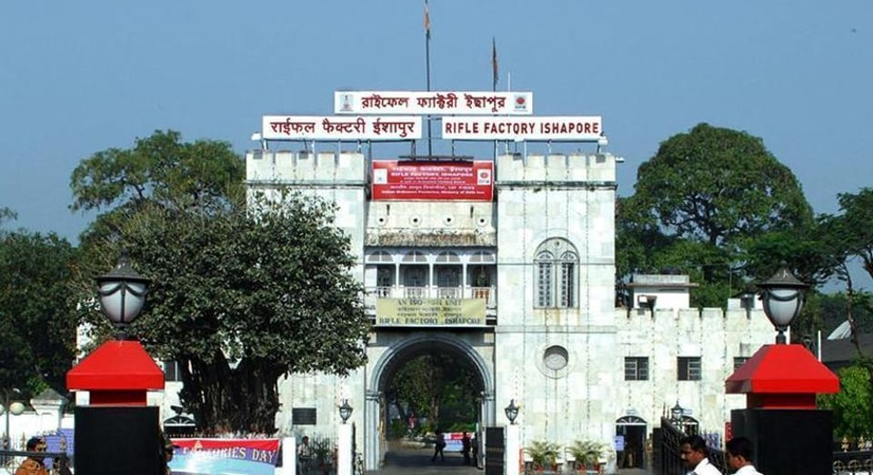 The Rifle Factory Ishapore is one of India's top ordnance factories.