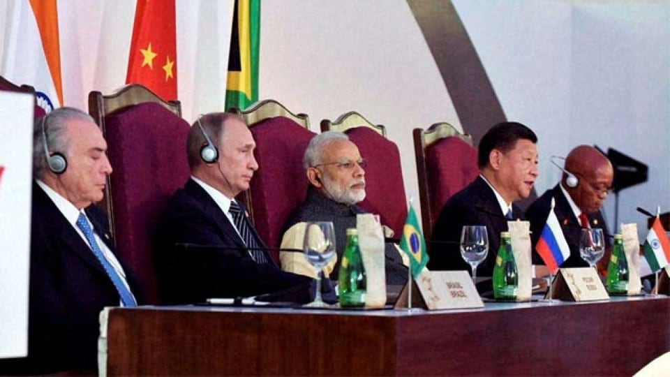 Brics (Brazil, Russia, India, China and South Africa)