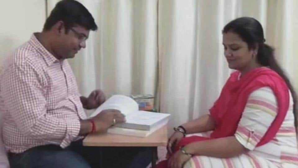 Anubhav Singh and his wife Vibha Singh secured the first and second rank, respectively, in the examination merit list.