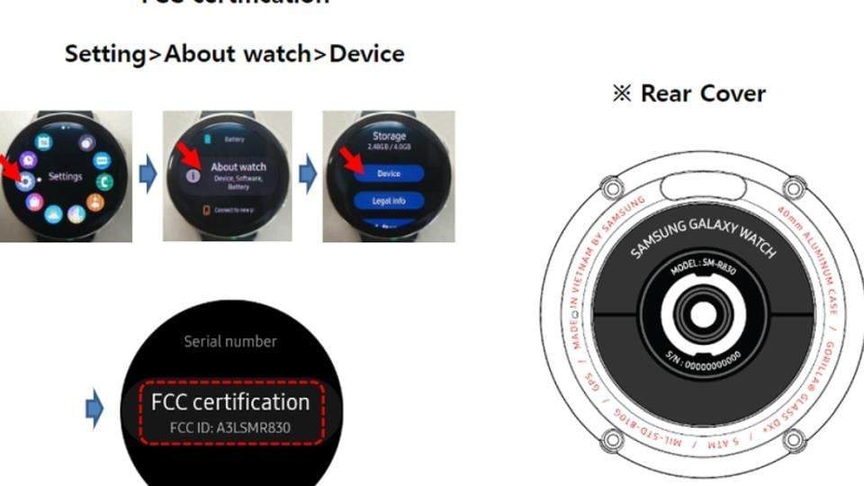 Samsung Galaxy Watch Active 2 pictures leaked